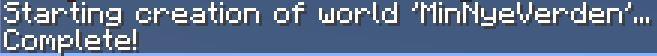 Minecraft server med flere verdener hos FlowServers