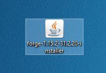 Forge-installer på din computers skrivebord